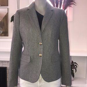 JCrew Mercantile gray blazer